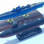 童友社 世界の潜水艦シリーズ シーウルフ 1/700
